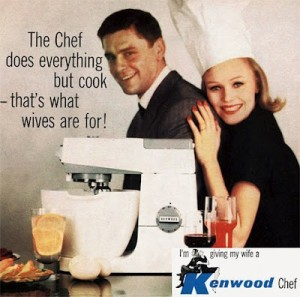 Well what if they invent a machine that can cook too? What will wives be for?